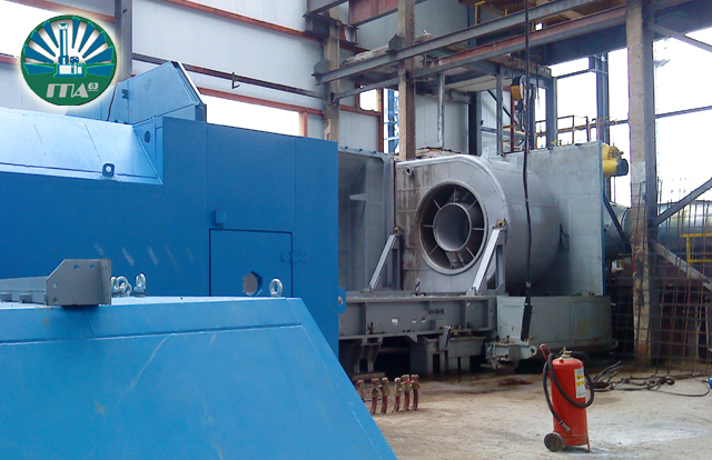 ГПА, ГПА-63, Газоперекачивающий агрегат, монтаж улитки, Газпром