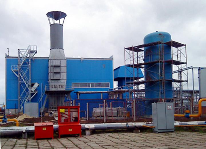 ГПА, ГПА-63, Газоперекачивающий агрегат, Монтажи, Газпром