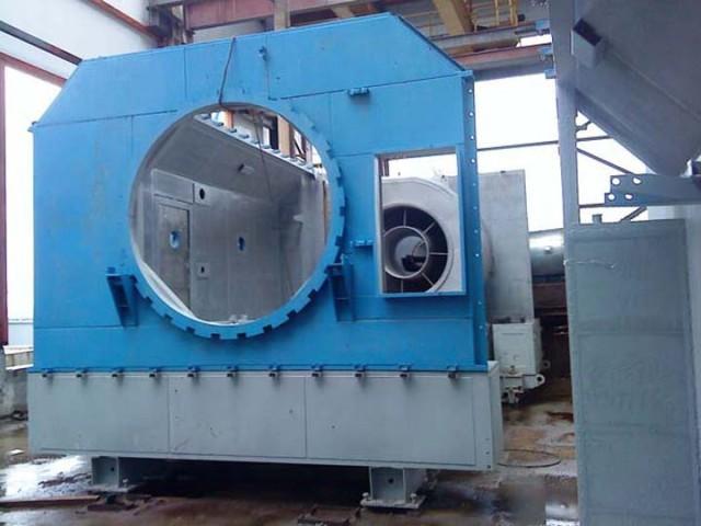 ГПА, ГПА-63, Монтаж контейнера двигателя ГПА, Газпром