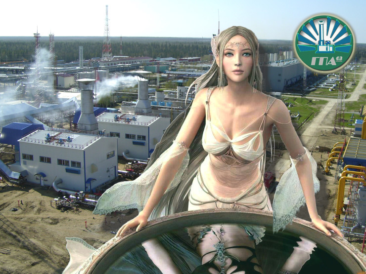 ГПА, ГПА-63, Газоперекачивающий агрегат, Газпром, ГКС, газокомпрессорная станция