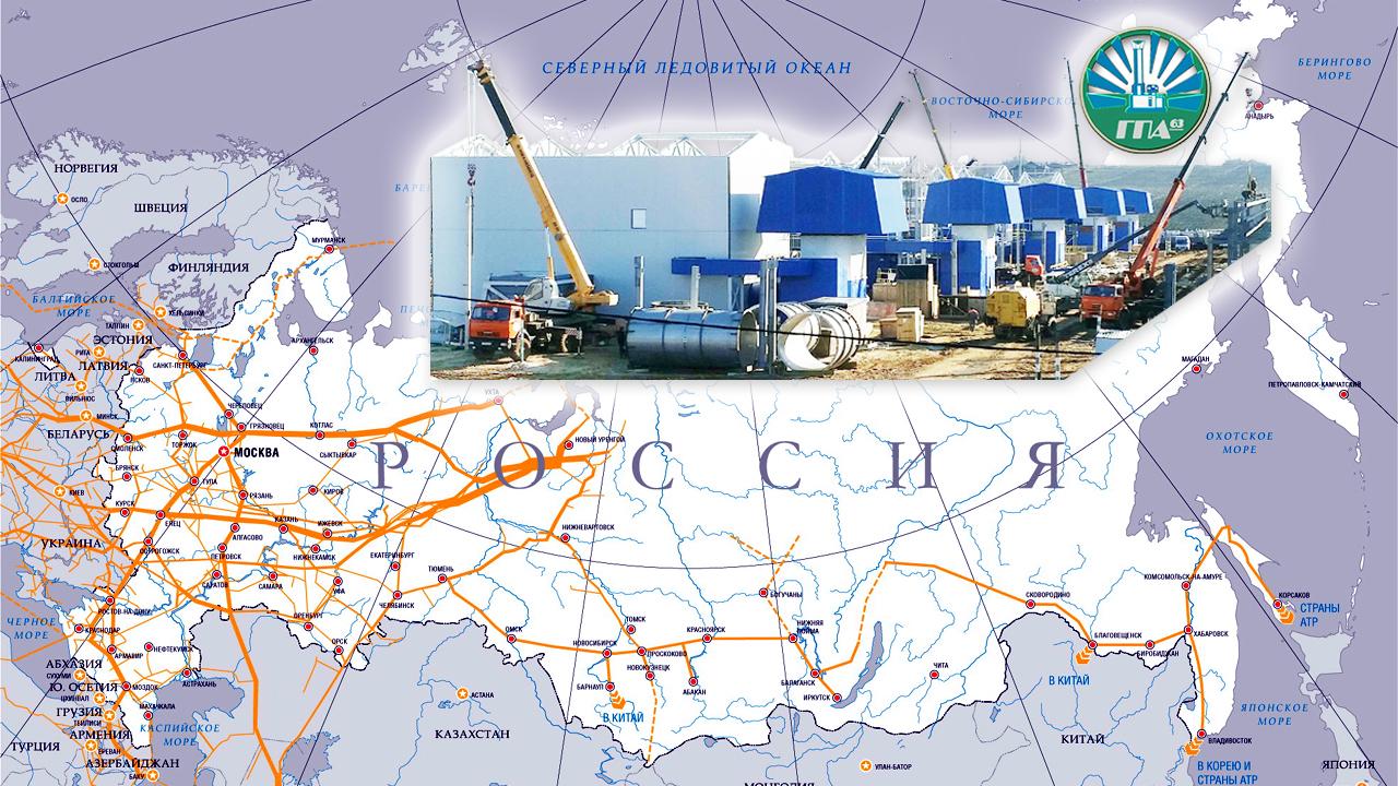 Газпром, Компрессорные станции, ГПА, ГПА-63, Газоперекачивающие агрегаты